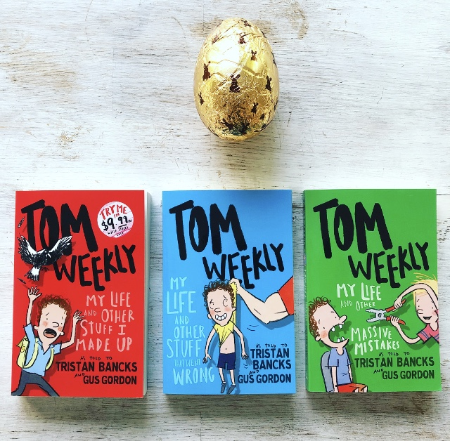 WIN Tristan Bancks' Tom Weekly Book Series