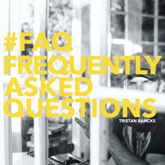Tristan Bancks FAQ