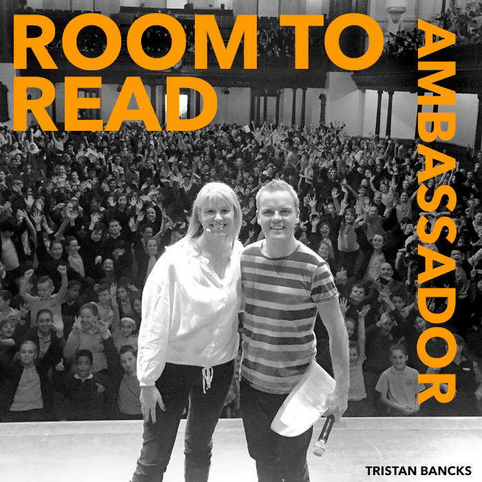 TRISTAN BANCKS Room To Read Ambassador