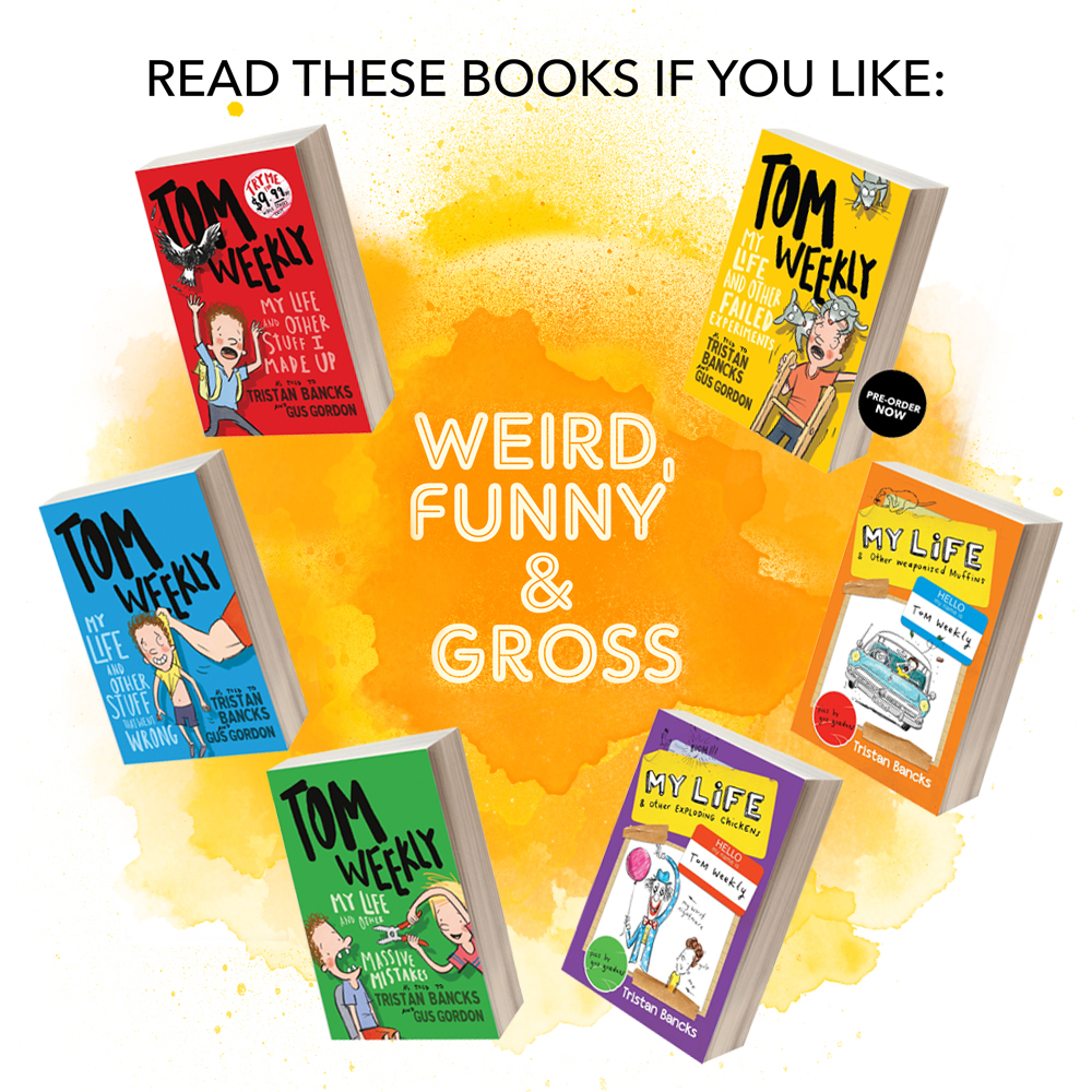 Weird, Funny & Gross BOOKS by author TRISTAN BANCKS