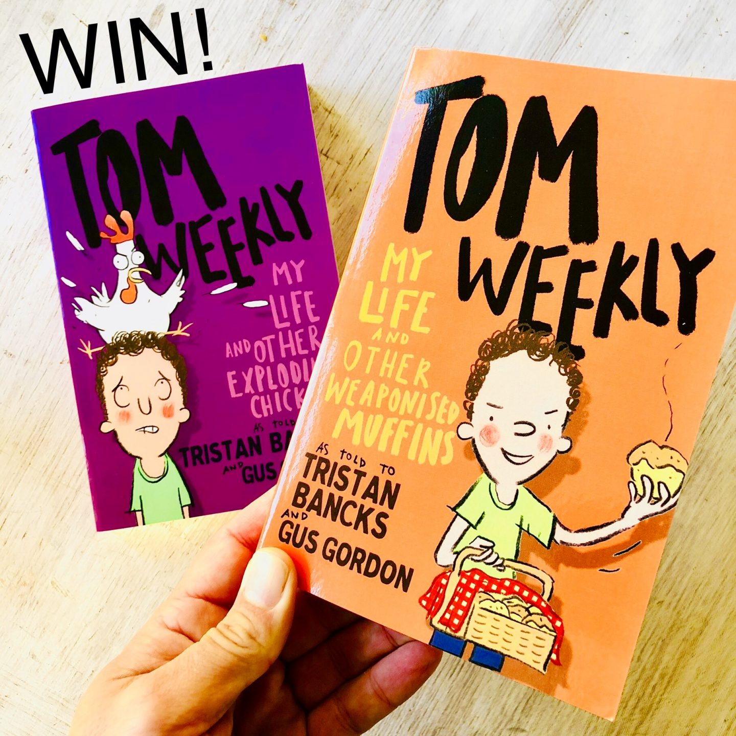 WIN Tom Weekly books