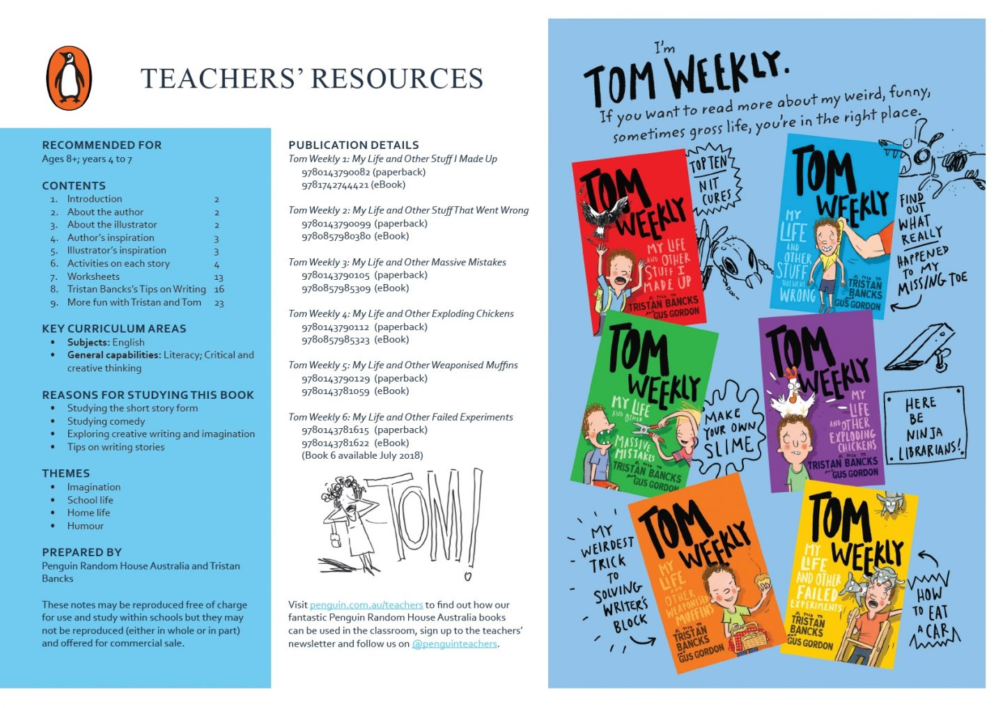 Tom Weekly Teacher excerpt 3