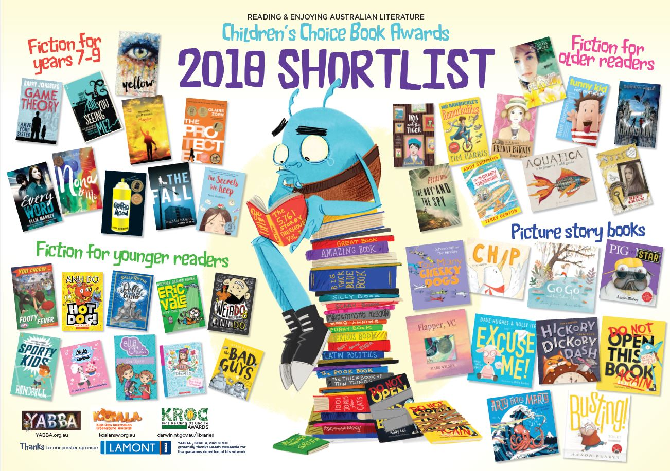 YABBA and KOALA Awards Shortlist