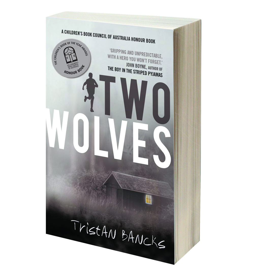 TWO WOLVES a crime mystery suspense novel for kids by author TRISTAN BANCKS