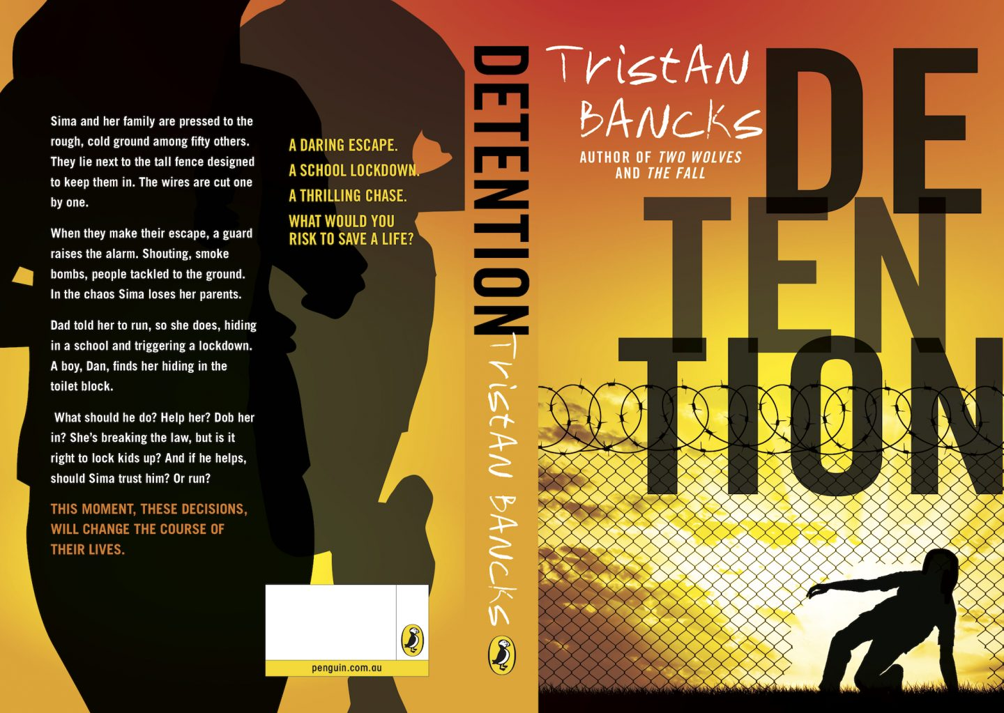 Detention Full Cover Tristan Bancks
