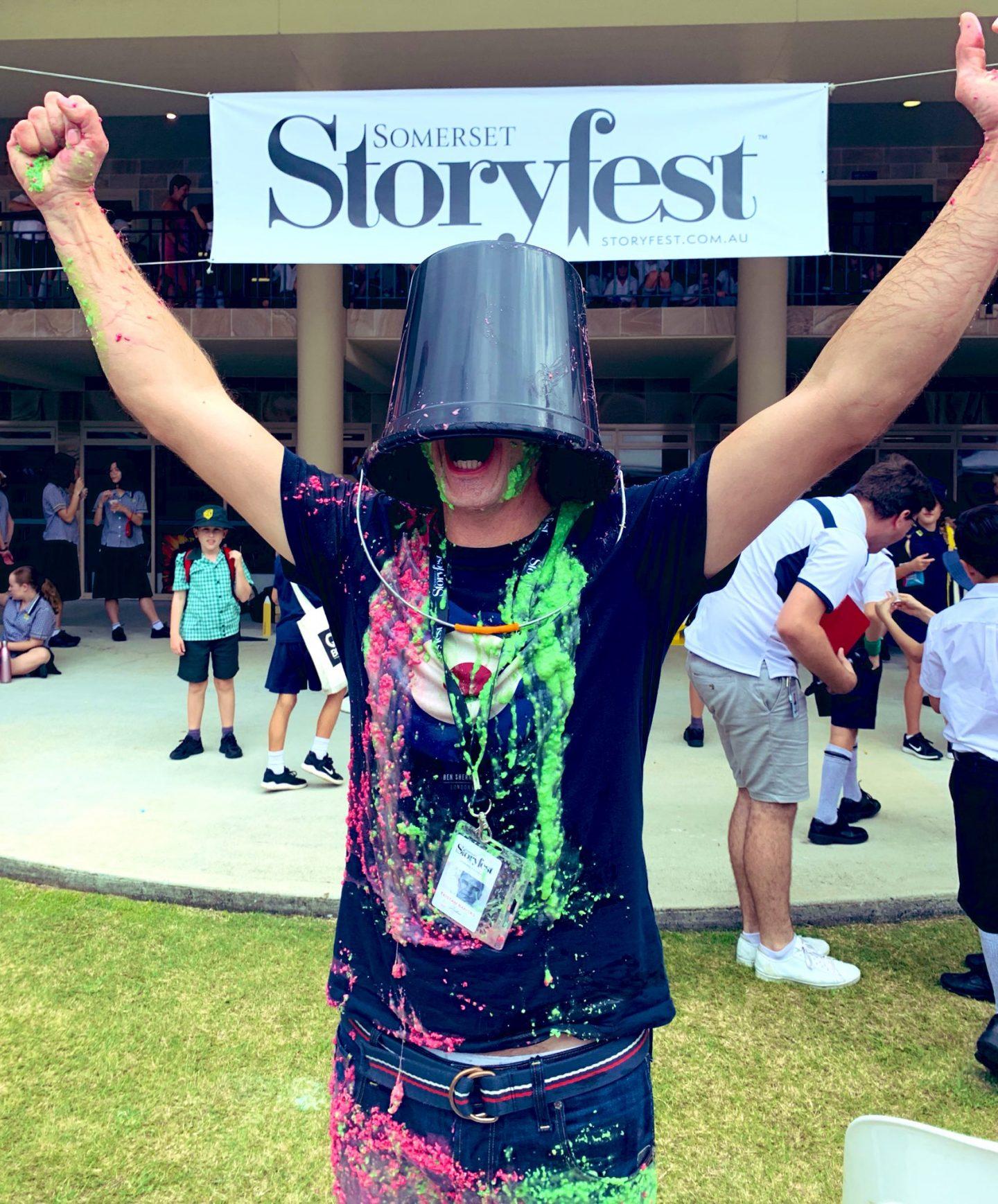 Somerset StoryFest 2019 Tristan Bancks