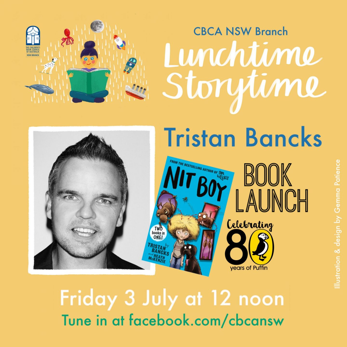 Tristan Bancks CBCA NSW Lunchtime Storytime