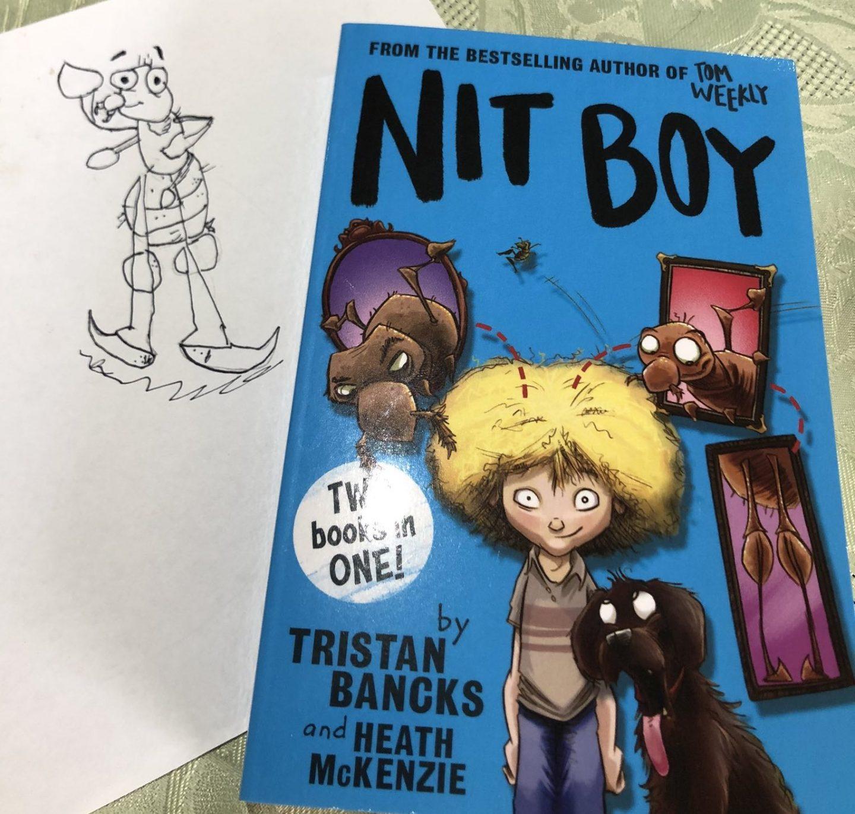 Nit Boy Drawing