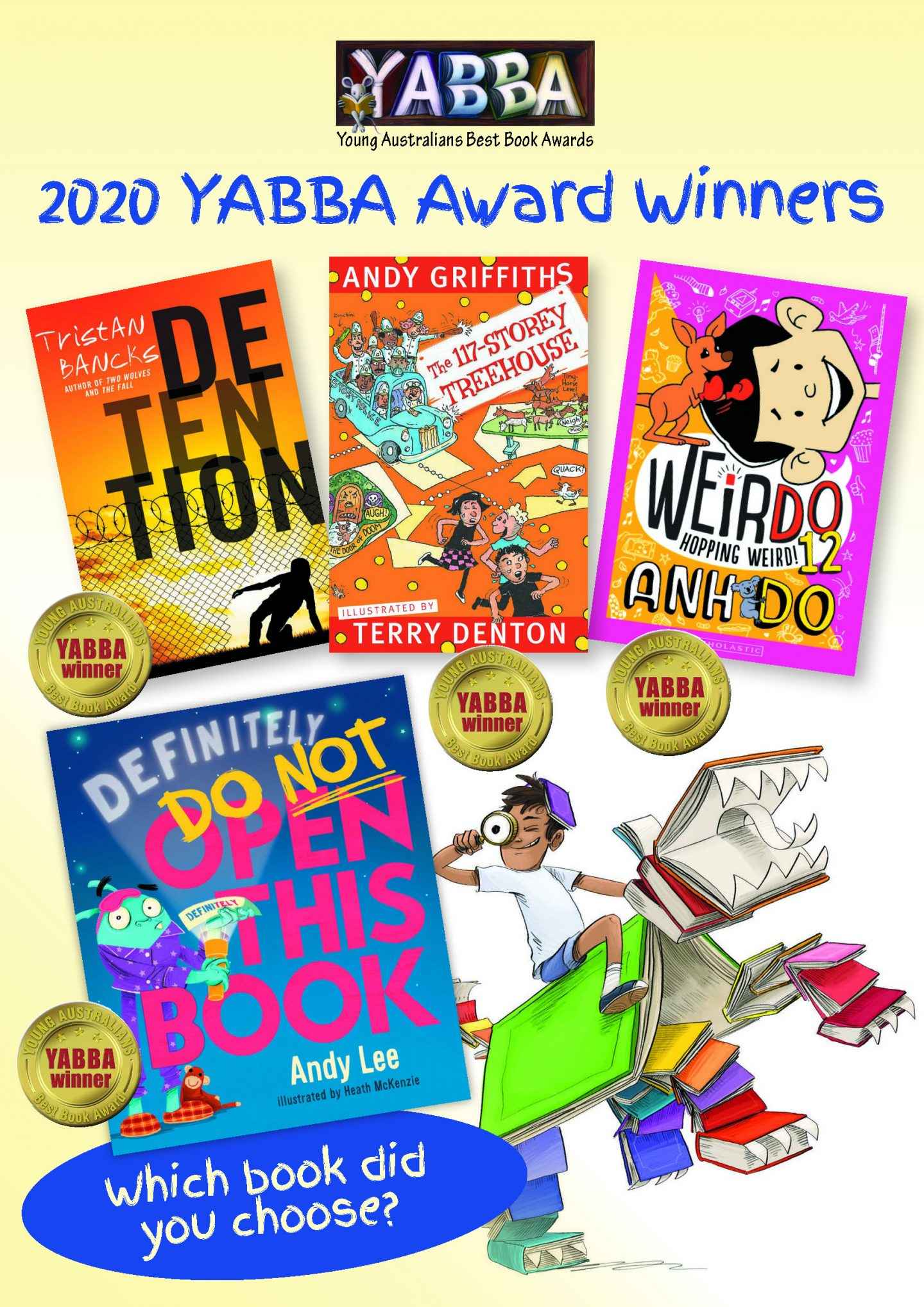 YABBA and KOALA Children's Choice Awards 2020