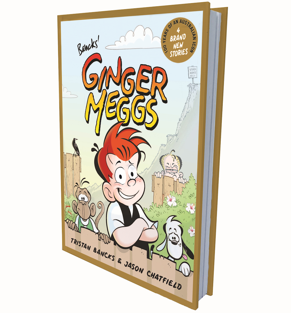 Ginger Meggs 100th Anniversary Book!
