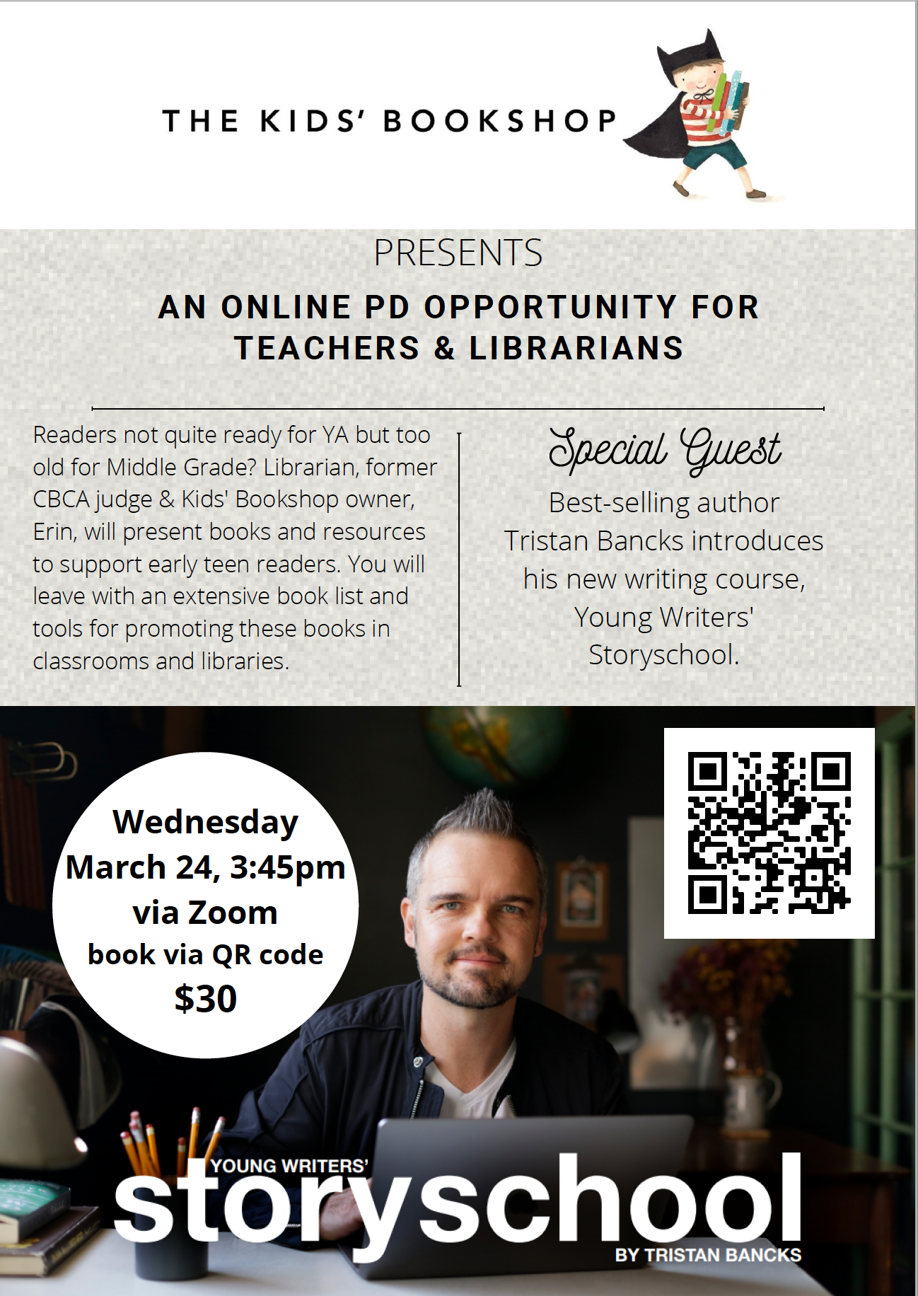 Online Professional Development Opportunity for Teachers and Librarians