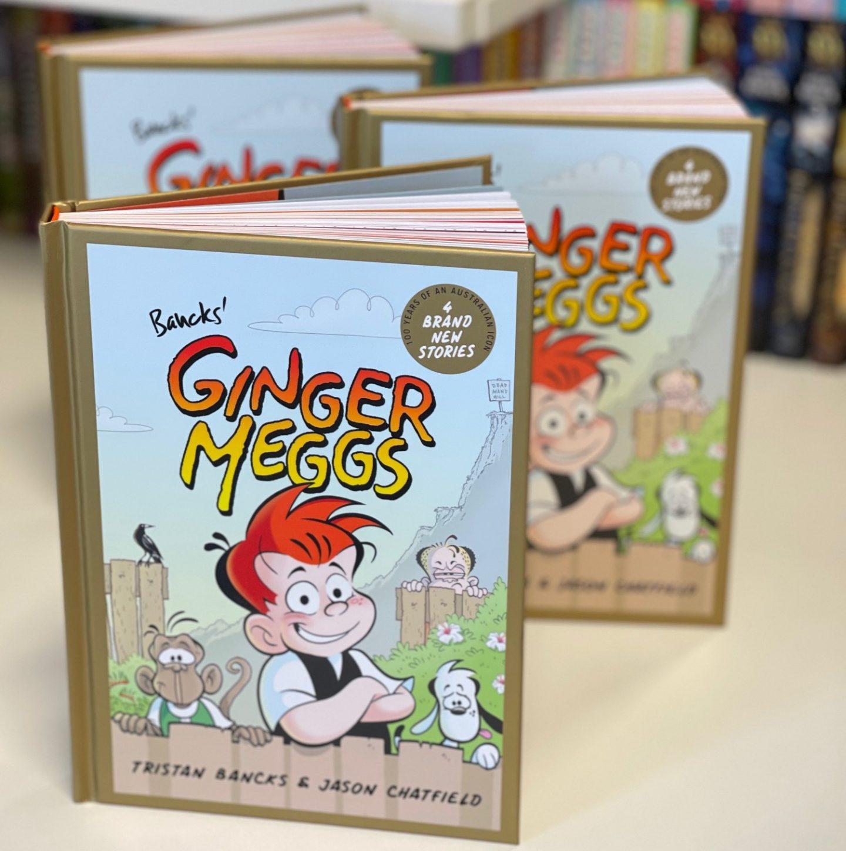 Ginger Meggs Book Tristan Bancks Jason Chatfield