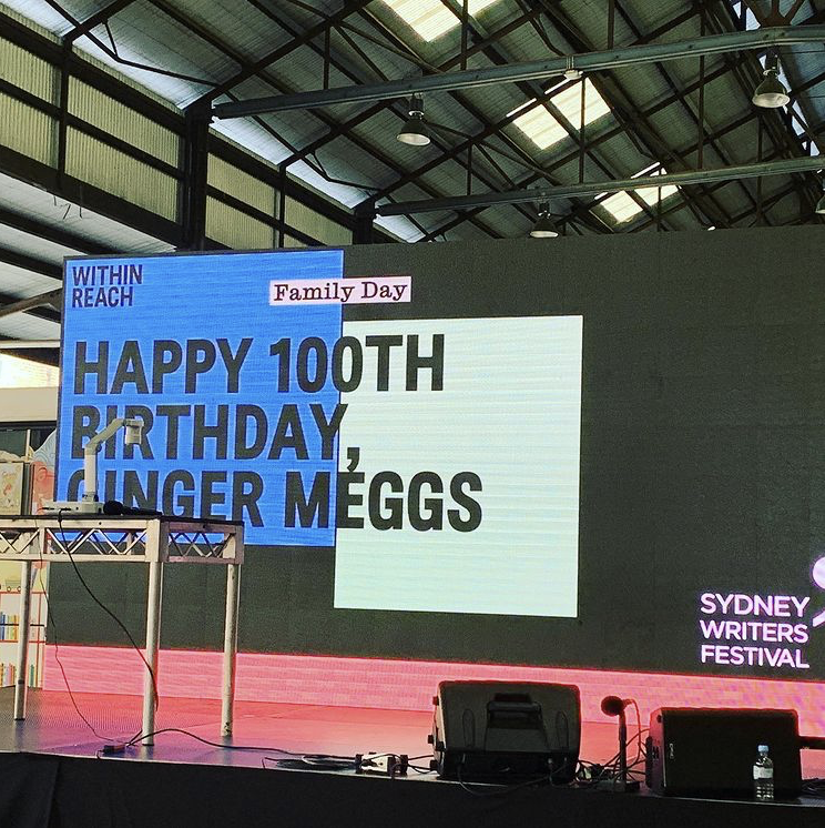Happy 100th Birthday Ginger Meggs