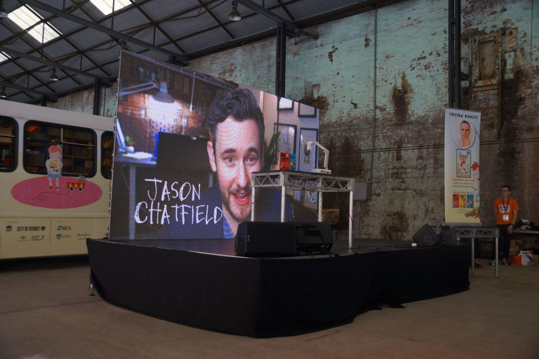 Jason Chatfield Sydney Writers Festival