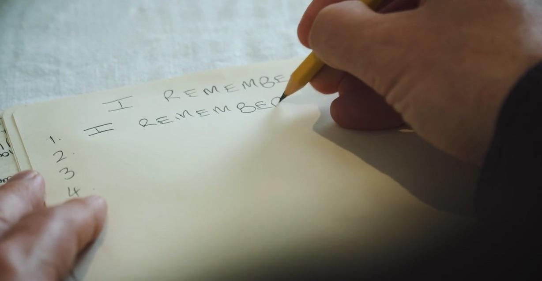 Writing blast I remember