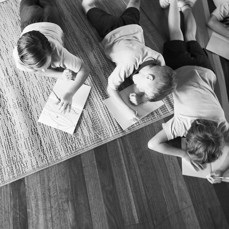 Kids Writing Pic from Byron Writers Festival StoryBoard Shel Sweeney
